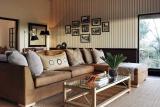 Pioneers camp suite living area