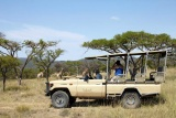 Game drive at iSibindi Zulu Lodge