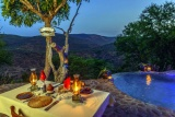 Isibindi zulu lodgepoolside dining