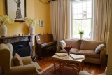 A cosy drawing room at Parker Cottage