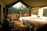 Chobe under canvas luxury beds