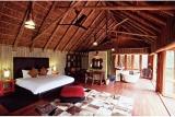 Luxurious bedroom at Jaci's Tree Lodge