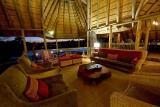 Savuti camp lounge