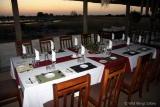 Dining at Camp Hwange