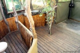 Kanga camp en-suite bath