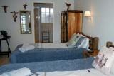Journey's Inn Africa twin room