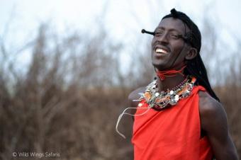 Masaai warrior