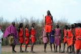 Masaai dancers, Kenya