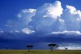 Kenyan thunderstorm brewing