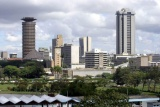 Nairobi skyline kenya