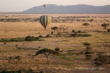 Balloon flight over Serengeti