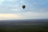 Serengeti balloon flight