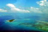 Aerial view zanzibar
