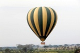 Hot air balloon safari, serengeti