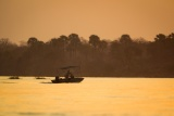 Boat safari lower zambezi