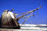 Shipwreck skeleton coast namibia