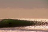 Surfing skeleton coast