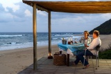 Romantic dinner at thonga beach lodge