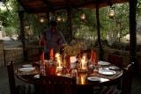 Chikoko camp - evening dinner