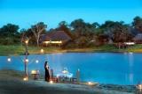 Romantic dinner alfresco at arathusa safari lodge