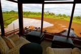 The ark game viewing room, Aberdare, Kenya