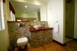 Aberdare country club bathroom, Kenya