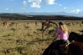 Borana horseback safari, Laikipia, Kenya