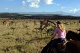 Horseback safari at Borana Lodge, Laikipia, Kenya