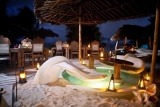 Waterlovers at night, Diani Beach, Kenya