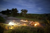 Sala's camp - sand river dining