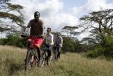 Solio lodge bike safaris