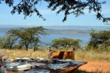 Mbweha camp lunch - lake nakuru