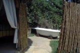 Mbweha camp outdoor bath