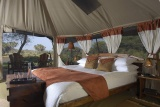 Elephant bedroom camp double room
