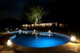 Pool by night,  the emakoko