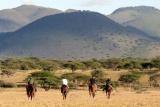 Horseback safari at ol donyo lodge