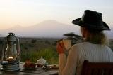 Tortilis Camp - views of mt kilimanjaro