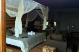 Rhino ridge safari lodge bush villa bedroom  lounge