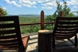 Rhino ridge safari lodge bush villa deck
