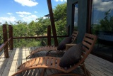 Rhino ridge safari lodge private deck