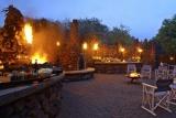 Phinda mountain lodge alfresco dining