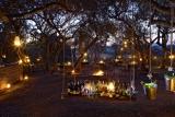 Alfresco evening at phinda rock lodge
