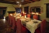 Dining at phinda rock lodge