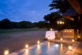 Phinda vlei lodge by night