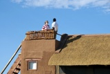 Kulala desert lodge viewing deck oe