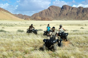 Exploring on Quad Bikes with Guide, Little Kulala