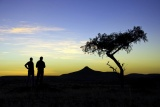 Damaraland sunset da