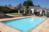 Inviting pool, africasky