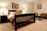 Spacious rooms, africasky