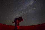 Star gazing at sossusvlei desert lodge